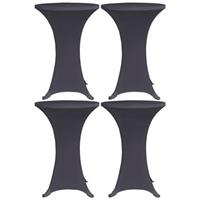 VidaXL Tafelhoes stretch 4 st 80 cm antraciet
