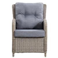 Le Sud loungestoel Verona verstelbaar - grijs