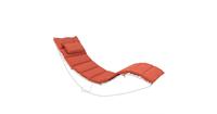 Beliani Kussen voor ligstoel BRESCIA rood
