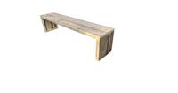 Wood4you Tuinbank zaandam 150Doe het zelf' Bouwpakket
