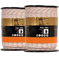 gallagher Turbo Line wit Duopack 2x500m wit