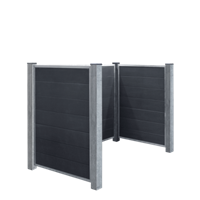 Trendyard Moderne Container Ombouw Composiet Leigrijs