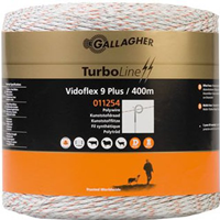 gallagher Duopack Vidoflex 9 Turboline Plus wit