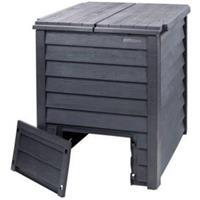 garantia compostbak Thermo-Wood 600L bruin-zwart