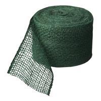 nature Juteband groen 10 cm x 25 m 220 g/m2