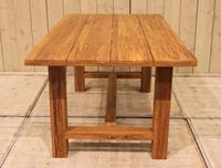 eurofleuraanbieding Cento tafel 180x200x75 cm natural teak