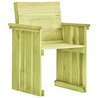 VidaXL Tuinstoel FSC geïmpregneerd grenenhout