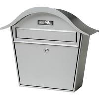 Burgwächter Zilveren brievenbus Holiday 5842 van staal