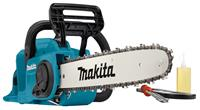 makita DUC400Z 36V (2x 18V) Li-Ion accu kettingzaag body - 400mm - koolborstelloos