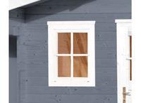 Weka Enkel raam tbv 21 en 28 mm wanden Wit