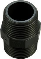 hozelock Dubbelnippel (Diameter slangaansluiting: 25 mm)