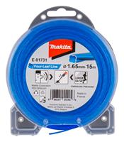makita E-01731 Maaidraad Four-Leaf Line blauw - 1,65mm - 15 meter
