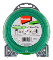 makita E-01769 Maaidraad Four-Leaf Line groen - 2,00mm - 15 meter