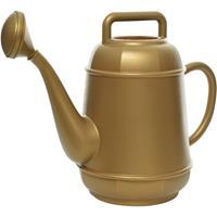 Decoris Gouden kunststof gieter 12 liter Goudkleurig