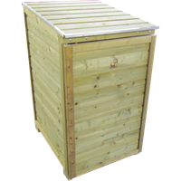 Lutrabox containerkast voor 1 container 140L