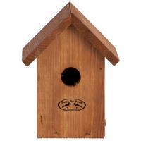 Vogelhuisje/nestkastje winterkoning Douglas hout 19.8 cm Bruin