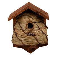 Vogelhuisje/nestkastje bijenkorf 25.8 cm Bruin
