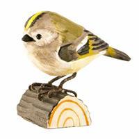 Goudhaantje houten vogel