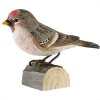 Houten vogel barmsijs