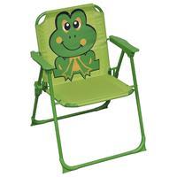vidaXL Kindertuinstoelen 2 st stof groen