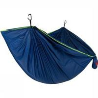Grand Trunk Tech Single Hammock Hangmat Donkerblauw/Groen