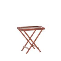 Beliani Balkontafel acacia bruin TOSCANA