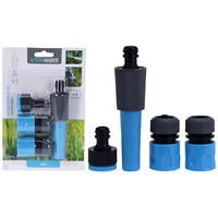 Basic Tuinsproeier Set 4-delig Blauw/Zwart