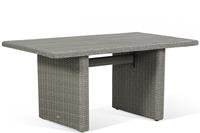Garden Collections Toronto lounge/dining tuintafel new grey 140 x 80 cm