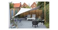Sunfighters Waterproof Schaduwdoek vierkant 5 x 5 meter