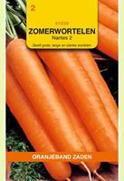 Oranjeband Zomerwortelen Nantes 2 Daucus carota - Wortelen - 6gram