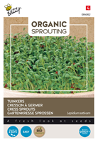 tuincentrumkoeman Organic Sprouting Tuinkers - Buzzy planthoogte: 0 - 10 cm