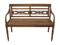 HSM Collection Tuinbank Batavia - teak - 120 cm