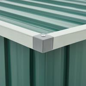 vidaXL Tuinbox 149x99x93 cm groen