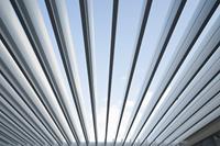 SUNS tuinmeubelen Rota | Terrasoverkapping | Mat Wit | 360x360x250cm