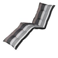 Madison kussens Ligbedkussen   Stripe grey