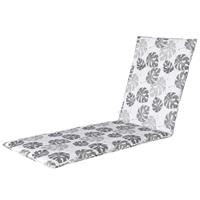 Madison kussens Ligbedkussen 190x60cm   outdoor Donna grey