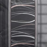 Madison kussens Bankkussen 120cm   Lines grey