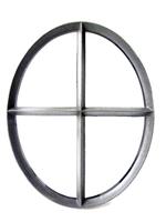 Westwood Ossenoog | Vast | 51 x 64 cm | Zwart | Dubbel glas
