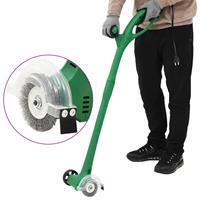 vidaXL Onkruidborstel elektrisch 140 W groen