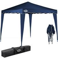 Deuba Vouwpaviljoen. party tent  Capri - Popup donkerblauw 3x3m