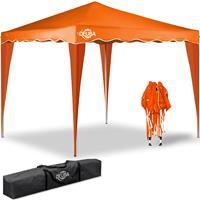 Deuba Vouwpaviljoen Capri - Popup 3x3m oranje
