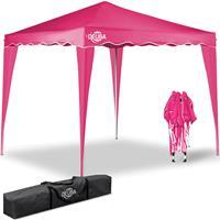 Deuba Vouwpaviljoen. party tent  Capri - Popup roze 3x3m