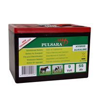 pulsara Pulsana batterij hybride alkaline 9 Volt - 55Ah