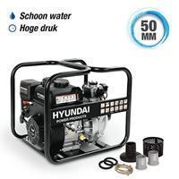 Hyundai waterpomp benzine 208cc/7pk met hogedrukfunctie zwart