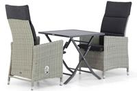 Garden Collections Madera/Nicola 70 cm dining tuinset 3-delig