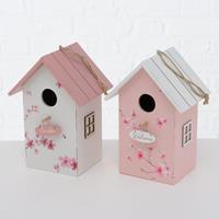 Boltze Home Vogelhuis Sakura MDF 15x22cm