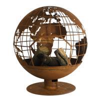 esschertdesign Esschert Design wereldbol vuurschaal