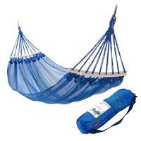 Outdoor hangmat anti-rollover en ademende camping hangmat Outdoor Swing (blauw)