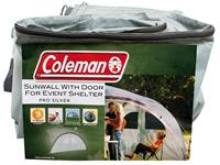 Coleman Event Shelter L - Sunwall with Door - Silver
