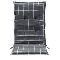 Leen Bakker Terrasstoelkussen Promo - grijs - 123x50x5 cm